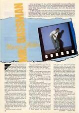 Marcus Miller UK 'Guitarist' Interview Clipping