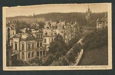 Wiesbaden  Lanzstrasse mit Blick auf den Neroberg (bovenzijde beschadigd)