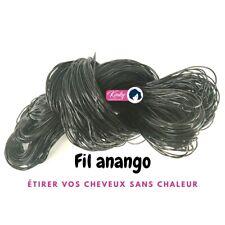 TRESSES AU Fil ANANGO - african threading, étirer les cheveux sans chaleur