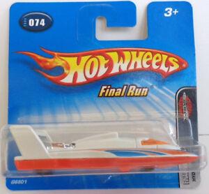Hot Wheels Final Run Hydrojet/plane #074 Short Card 2005
