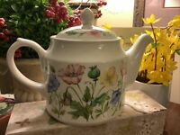 Sadler~Vintage Teapot~KOWLOON~England~#42~FREE SHIPPING~Full Size~Wildflowers~