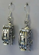 Silver nomads! earrings earring caravan caravaning mobile home travel grey