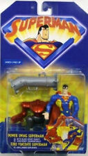 """Superman Animated by Kenner - Power Swing Superman With """"Blast-Apart Robot""""(Moc)"""