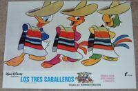 Walt Disney's The Three Caballeros lobby card movie poster print # 3