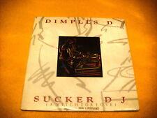 Cardsleeve Single cd DIMPLES D Sucker Dj 3TR 1990 house pop rap