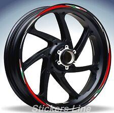 Adesivi ruote moto strisce cerchi KAWASAKI ER6N Racing 4 sitckers wheel ER6 N