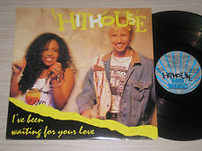 "HITHOUSE - I'VE BEEN WAITING FOR YOUR LOVE - MAXI-SINGLE 12"" ITALY"