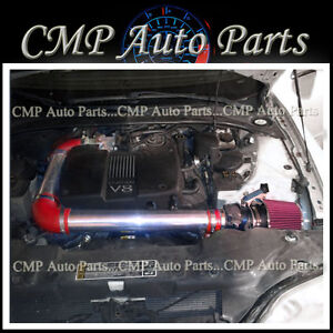 RED 2000-2002 LINCOLN LS 3.9 3.9L V8 4-DOOR AIR INTAKE KIT INDUCTION SYSTEMS