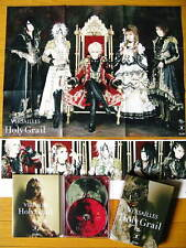 Versailles Holy Grail CD + DVD Limited Edition Poster Photobooklet JAPAN RARE!!!