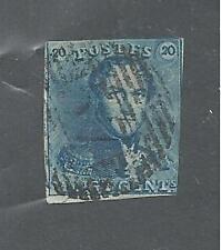 BELGIUM # 2 Used KING LEOPOLD I