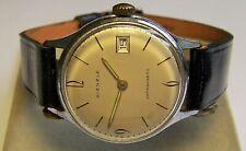 Kienzle Herren Armbanduhr HAU Cal. 051a/52 mechanisch Datum ca. 1960  verharzt