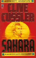 Dirk Pitt: Sahara by Clive Cussler (1995, Paperback) Like New