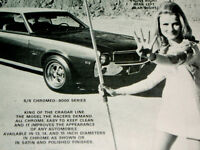 1968 AMC JAVELIN SST ORIGINAL CRAGAR SS WHEEL AD*hood/decal/steering/360/AMX/390