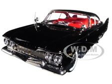 1960 PLYMOUTH FURY HARD TOP BLACK DIECAST MODEL 1/18 PLATINUM BY SUNSTAR 5423