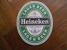 PUB COASTER - Heineken Lager Beer, Double Winners  NO 10 - NEW