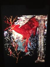 """Julian Schnabel """"Geography Lesson"""" 35mm American Neo-expressionism Art Slide"""