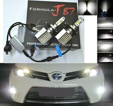 LED Kit S 100W 9003 HB2 H4 6000K White  Two Bulbs Head Light Replace Motorcycle