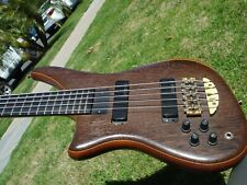 1996 Alembic Epic 5 String Lefty Left Handed Bass Guitar