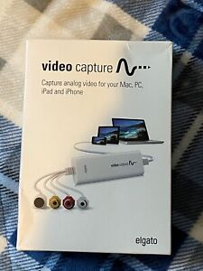 Elgato Video Capture Adapter, Digitize Video Mac/PC World Format Ready USB 2.0
