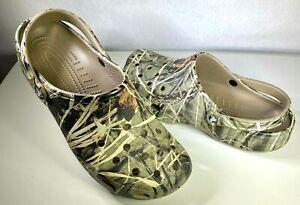 Crocs Classic Realtree Clog Mens Size 16 EUR 51-52 Camo > Khaki > LN