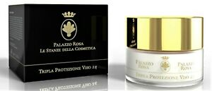 TRIPLE FACE PROTECTION 24, protects skin from sun, pollution, atmospheric agents