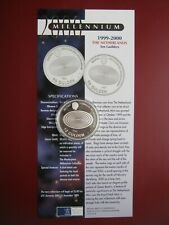 Netherlands 1999 2000 10 Gulden Millennium Masterpiece Silver Proof Coin Info