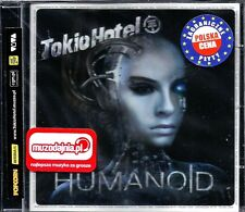 Tokio Hotel ‎– Humanoid PL (Sealed/Folia) Polish Hologram & Stickers On Foil