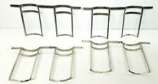 """197373 Lot of 4 double Vintage Curved 4x5"""" Sheet Film Processing Hangers"""