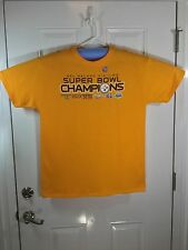 Pittsburgh Steelers Six-Time Super Bowl Champions SS T-shirt, size  Large