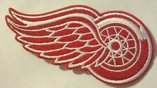 "Detroit Red Wings Embroidered Patch~3 7/8"" x 2""~Iron or Sew On~NHL~Ships FREE"