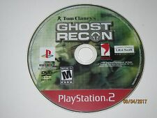 Tom Clancy's Ghost Recon (Sony PS2, 2002) Disc Only
