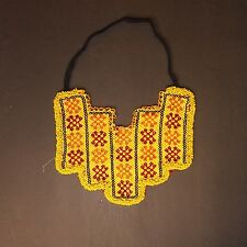 BellyDance ATS Costume Beaded NECKLACE Kuchi Tribal 809n5