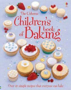 Children's Book of Baking (Usborne First Cookbooks... by Fiona Patchett Hardback