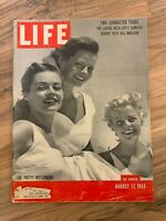 LIFE MAGAZINE August 17th 1953 / The Pretty Wittlingers // Great Ads
