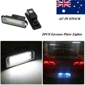 2X LED Licence Number Plate Light Canbus VW Passat CC Polo GTI Golf MK6 MK5 MK4