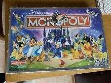 The Disney Edition Monopoly Board Game Waddingtons 2001