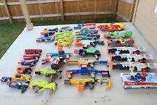 Super Soaker Water Blasters and NERF Dart Guns HUGE Lot of 34