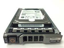 """DELL 600GB 10K ST600MM0088 6GB/S 2.5"""" SFF SAS HOT-PLUG HARD DRIVE W/ TRAY LOT-6"""