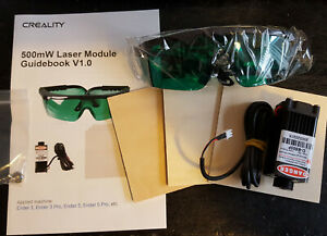 Creality 3D Printer Laser Engraving Laser Head Module Blue Violet Ender 3 Pro 5