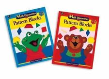 Math Discoveries with Pattern Blocks by Shirley Hoogeboom (1999, Print, Other)