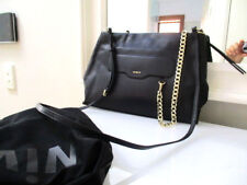 MIMCO ILLUSION SHOULDER/MESSINGER BAG BLACK LEATHER CURRENT SEASON RRP $550 NEW