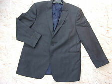 Smart AUSTIN REED Mens Grey Wool Pinstripe Jacket Chest 50R