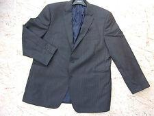 Smart AUSTIN REED Mens Grey Wool Pinstripe Jacket Chest 50R