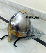 Medieval North European Viking Old Norse Fighter Armor Helmet for HALLOWEEN