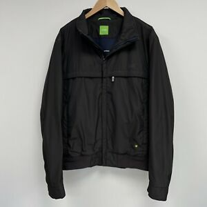 Hugo Boss Jacket Black Men's Size Int XXL 44 Reg - Defect in Lining
