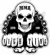 "Mixed Martial Arts MMA Cage Fight Car Bumper Window Vinyl Sticker Decal 4.6"""
