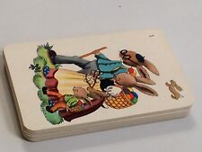 Jeu de cartes quartet animaux à forme humaine