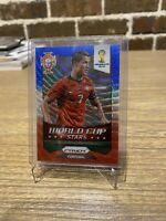 Cristiano Ronaldo 2014 World Cup Stars Red White And Blue Wave Prizm!