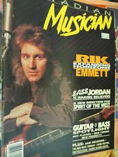Canadian Musician June 1992 Magazine- Rick Emmett/Sass Jordan/Spirit Of The West