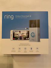 New Ring Video Doorbell 2 Satin Nickel (8Vr1S7-0En0)